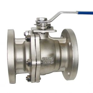 Flanged 2 pce Ball Valve
