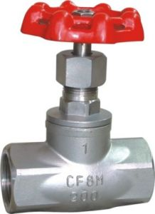 Stainless Steel Globe Valve threaded BSP dimensions