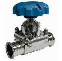 Stainless Steel Hygienic Sanitary Diaphragm Valve Clamp end